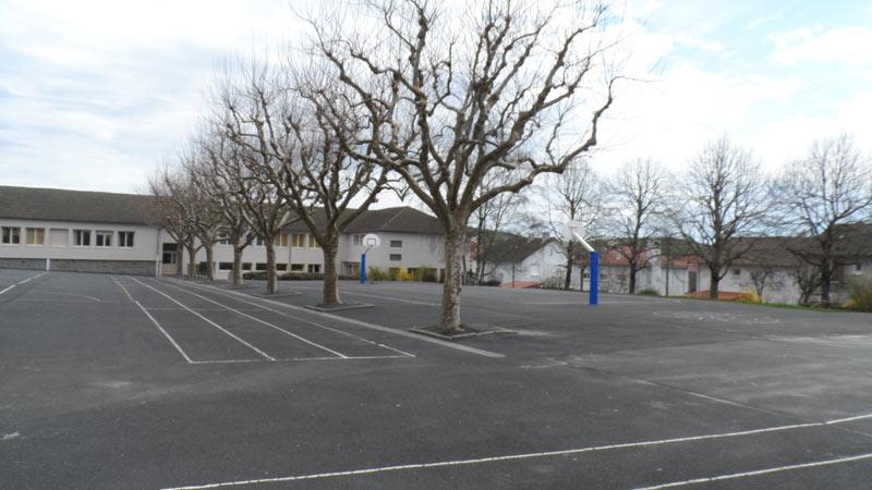 Cour de l'école Primaire des Alouettes