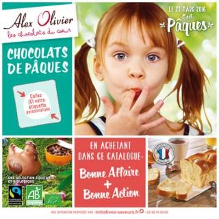 Chocolats Pâques 2016