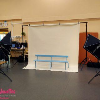 Mini-Studio Photo école