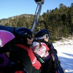 Sortie ski Lioran télésiège