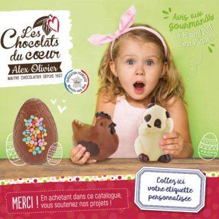Chocolats Pâques 2017
