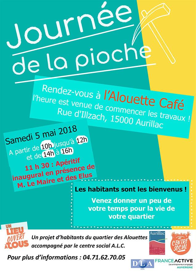 Journée de la pioche Alouette Café