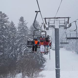 Sorties Ski 2019 école Alouettes